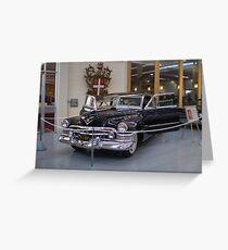 Gangsta Cadillac Greeting Card