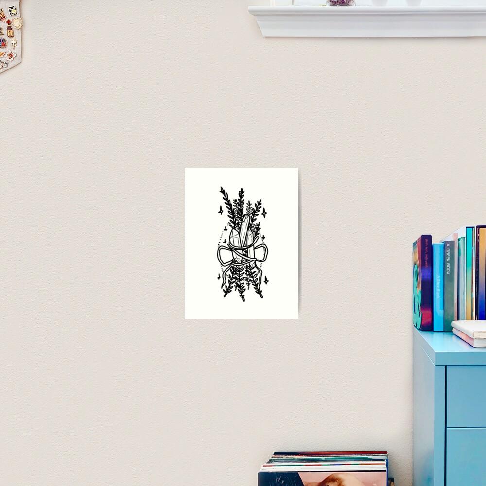 Magical supplies Art Print