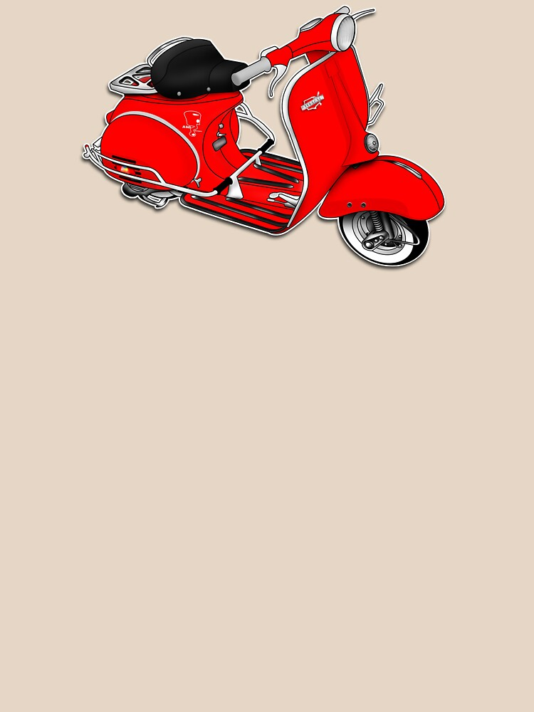 Scooter T-shirts Art: 1961 Allstate Scooter Design by yj8dsk57