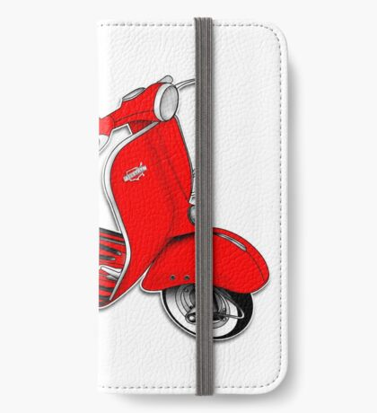 Scooter T-shirts Art: 1961 Allstate Scooter Design iPhone Wallet