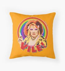 Vile! Throw Pillow