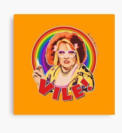 Vile! Canvas Print