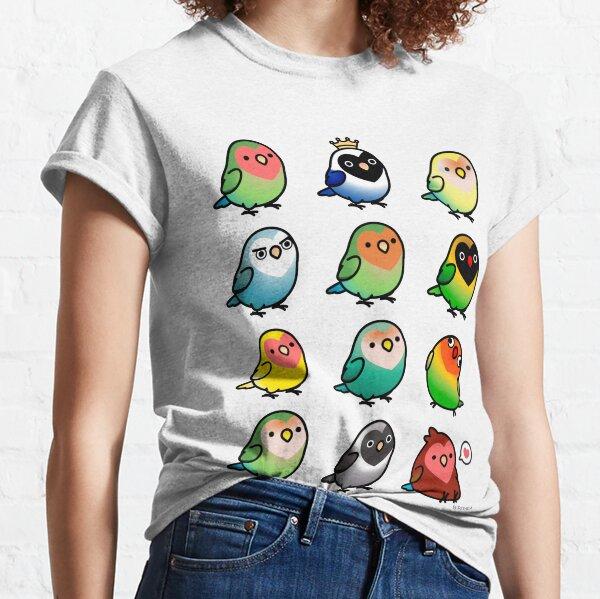 Chubby Lovebirds Classic T-Shirt