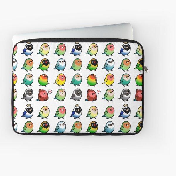 Chubby Lovebirds Laptop Sleeve