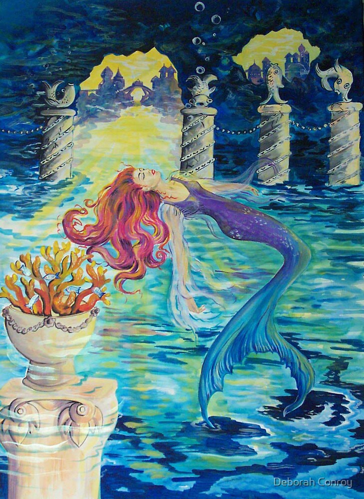 Mermaid Angel by Deborah Conroy