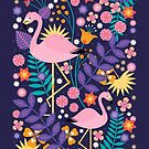 Flamingo Tropical by CarlyWatts