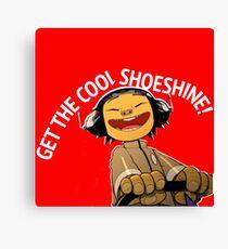 GET THE COOL SHOESHINE!- Noodle, 19-2000 by Gorillaz Canvas Print