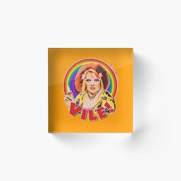 Vile! Acrylic Block