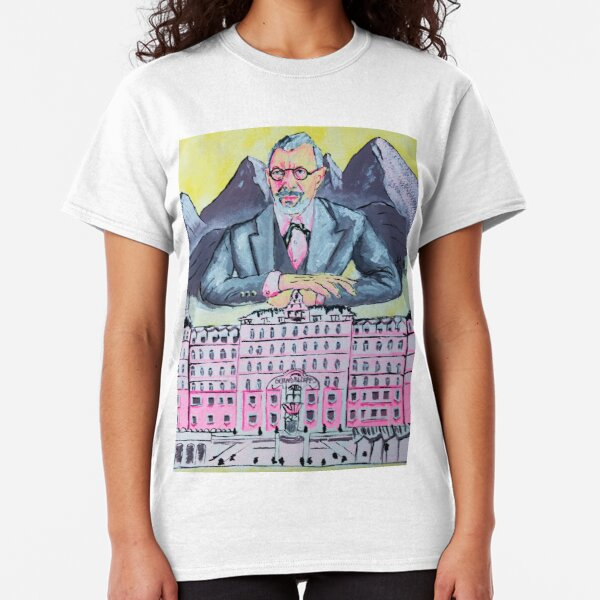 Jeff and The Grand Budapest Classic T-Shirt