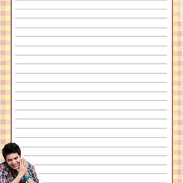 David Archuleta Notepad by NicksChick