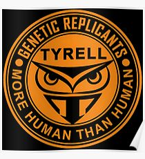 Tyrell corporation logo Poster