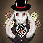 White rabbit  by polamart