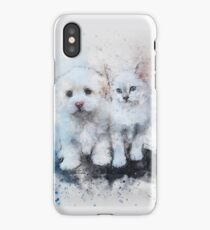 Puppy & Catty iPhone Case