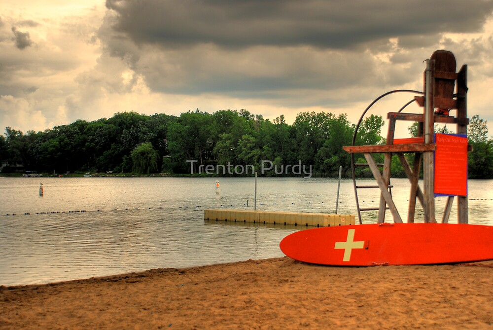 Thunderstorm Beach by Trenton Purdy