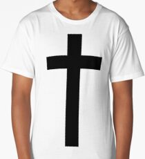 Christian Cross Long T-Shirt