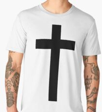 Christian Cross Men's Premium T-Shirt
