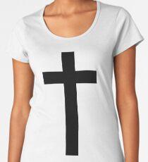 Christian Cross Women's Premium T-Shirt