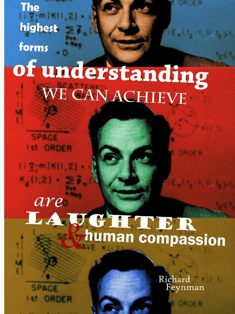 Richard Feynman 2 by pahleeloola