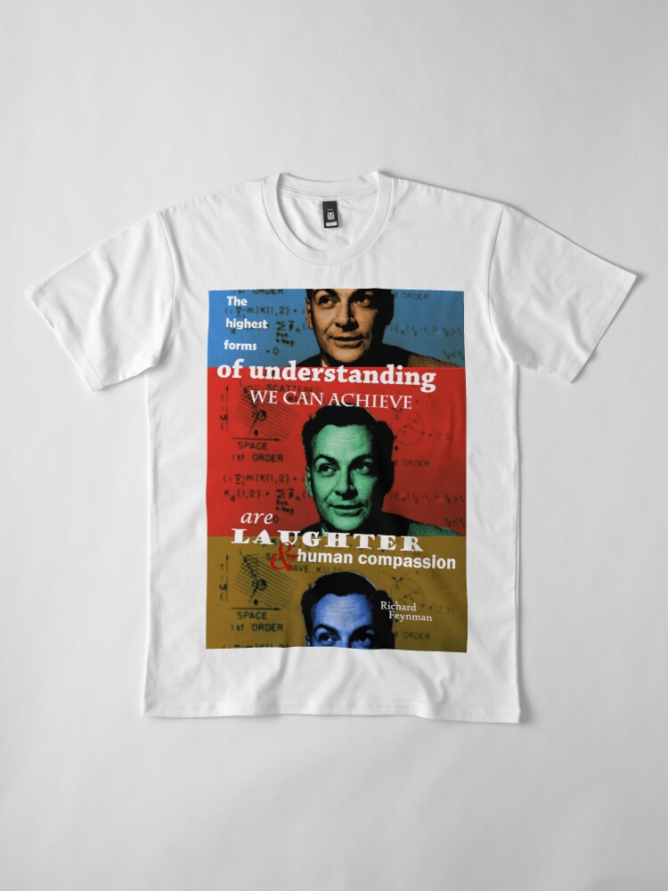Alternate view of Richard Feynman 2 Premium T-Shirt