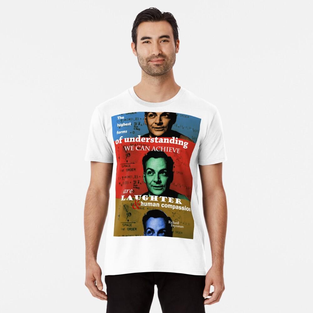 Richard Feynman 2 Premium T-Shirt