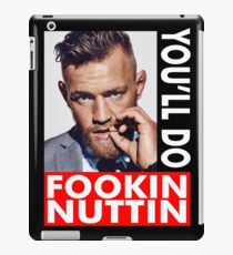 McGregor UFC Champion iPad Case/Skin