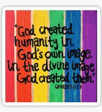 God, Pride, Image Sticker