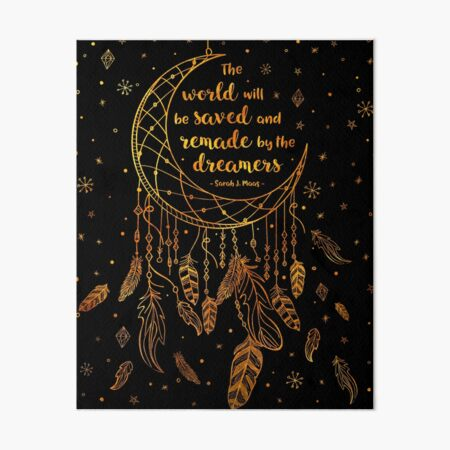 Saved and Remade - gold Art Board Print