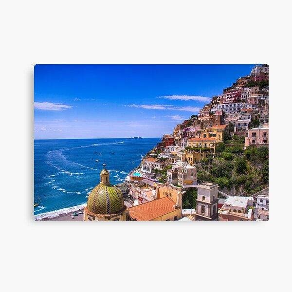 Love Of Positano Italy Canvas Print