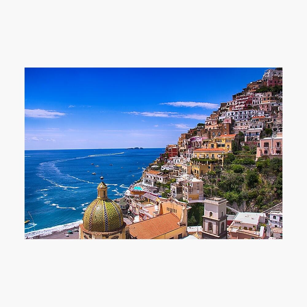 Liebe von Positano Italien Fotodruck