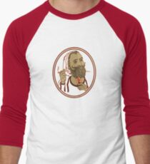 Zig Zag Men's Baseball ¾ T-Shirt