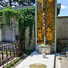 Grave Of Ernst Fuchs, 1140 Vienna Austria by Mythos57
