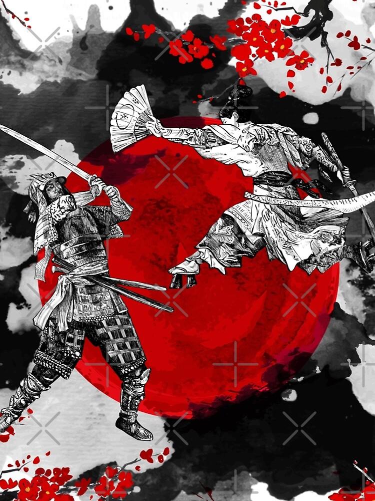 Samurai Fighting by DCornel