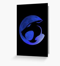 Thundercats - Blue Moon Greeting Card