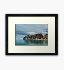Magdalenafjord in Svalbard islands, Norway Framed Print