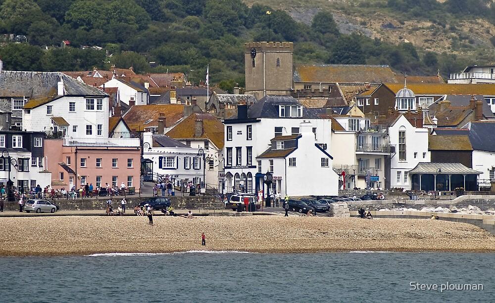 Lyme Regis by Steve plowman