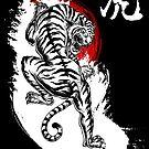 Japanischer Tiger (weiß) von DCornel