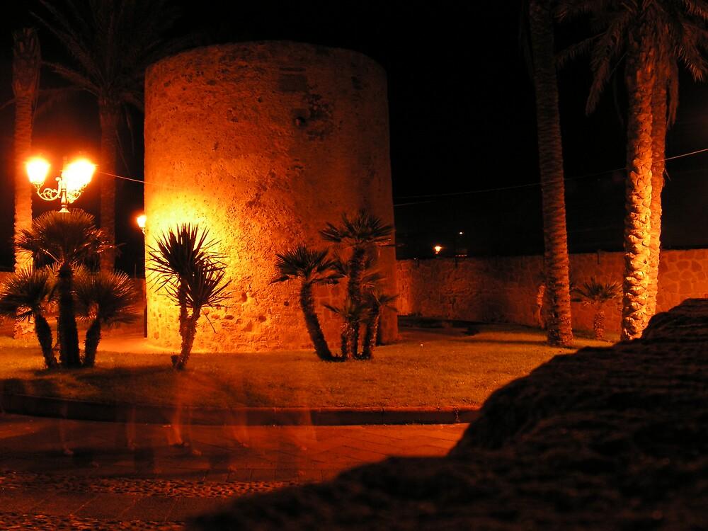 Alghero by night by Ila80