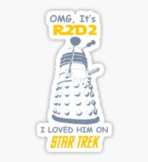 dalek doctor who - Nerd RAGE Sticker