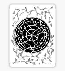 69 - CELTIC FOLIAGE - DAVE EDWARDS - INK - 1983 Sticker