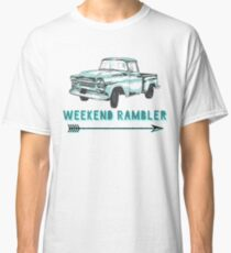 Weekend Rambler Old Truck Arrow Classic T-Shirt