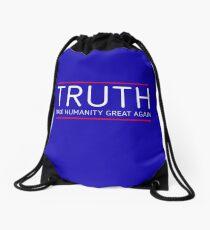 TRUTH - MAKE HUMANITY GREAT AGAIN Drawstring Bag