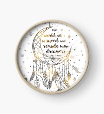 The world will be saved Clock