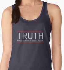 TRUTH - MAKE HUMANITY GREAT AGAIN Women's Tank Top