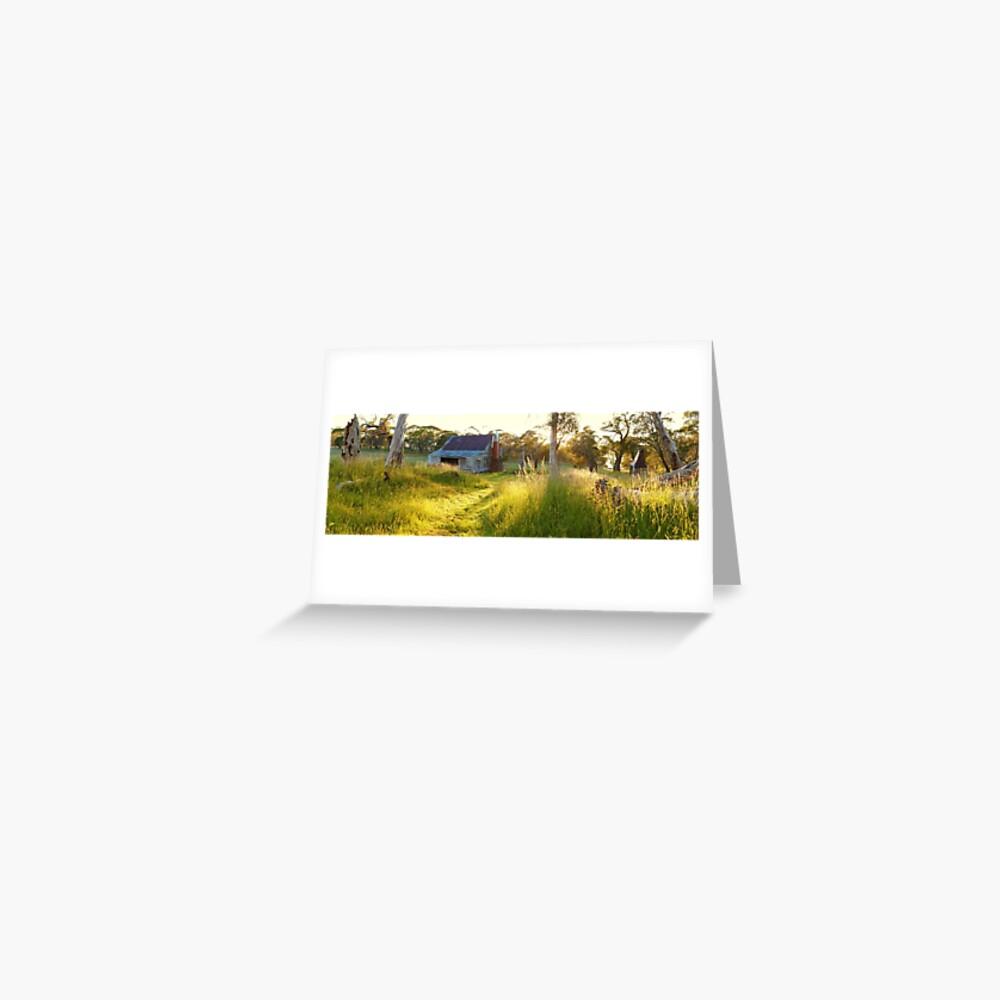 Gooandra Homestead, Kosciuszko, New South Wales, Australia Greeting Card