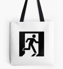 Modern Exit Iconography - High Fidelity Tote Bag
