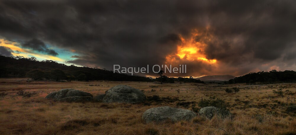 Namadgi Sunset by Raquel O'Neill