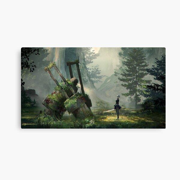 NieR:Automata Forest Impression sur toile