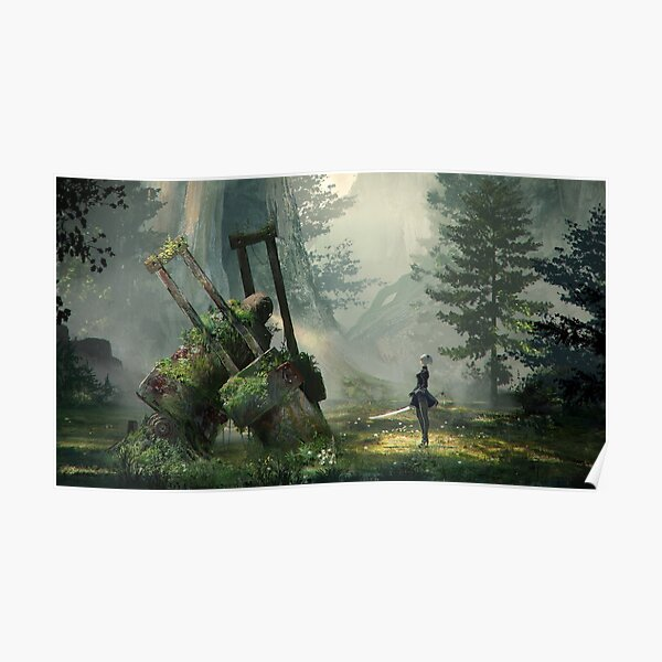 NieR:Automata Forest Poster