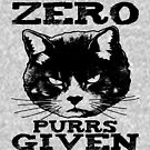 Zero Purrs Given Angy Cat by EthosWear