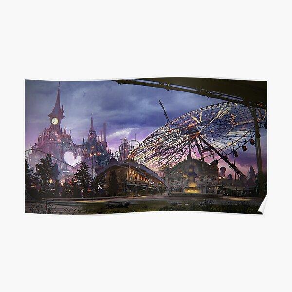 NieR : Automata Parc d'attraction Poster